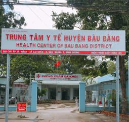 trung tâm y tế huyện bàu bàng